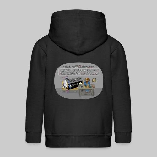 VJocys Sun - Kids' Premium Zip Hoodie