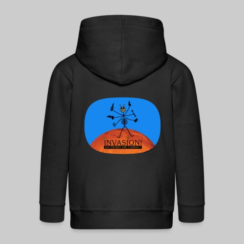 VJocys Invasion Mars - Kids' Premium Zip Hoodie
