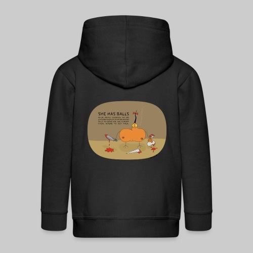 VJocys Girlfriend - Kids' Premium Zip Hoodie