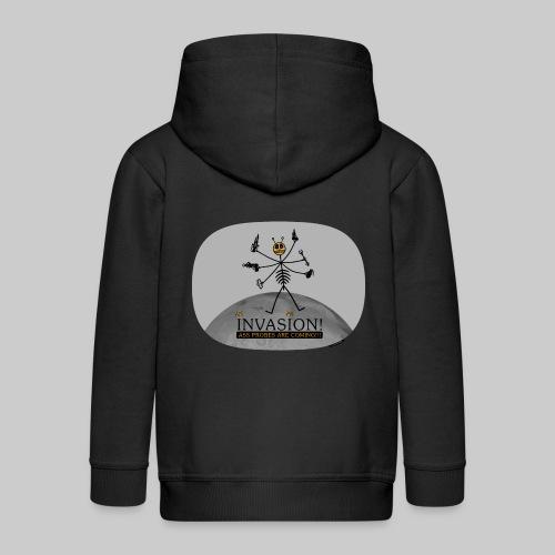 VJocys Invasion - Kids' Premium Zip Hoodie