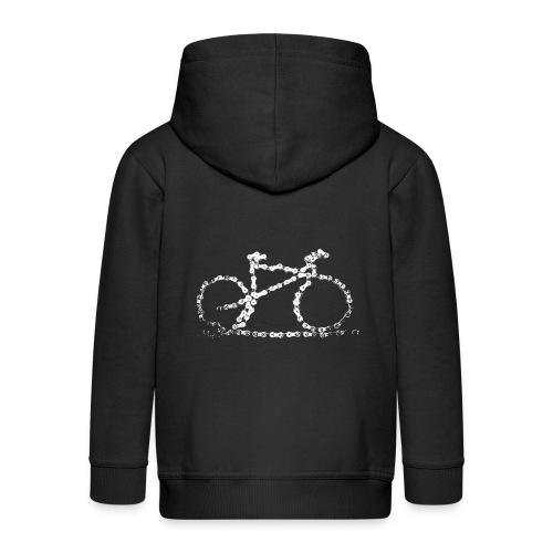 bike3_large - Kids' Premium Zip Hoodie