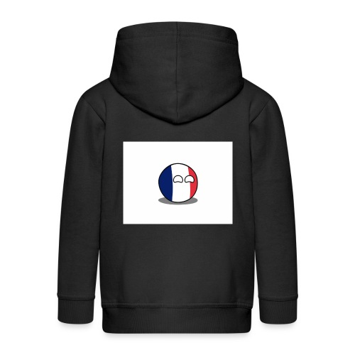 France Simple - Veste à capuche Premium Enfant