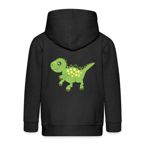 Dino voraz - Chaqueta con capucha premium niño