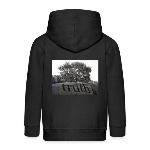 Truth - Kids' Premium Zip Hoodie