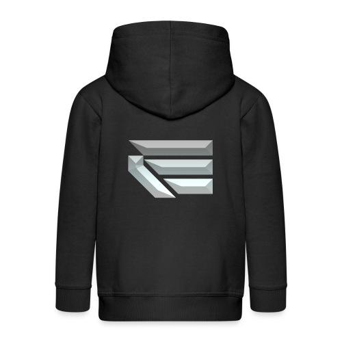 Edmondson's YouTube Logo - Kids' Premium Zip Hoodie