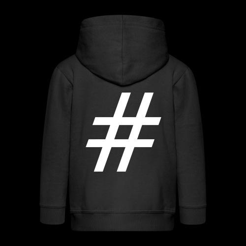 Hashtag Team - Kinder Premium Kapuzenjacke