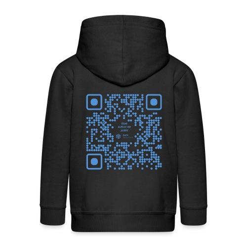 QR The New Internet Shouldn t Be Blockchain Based - Kids' Premium Zip Hoodie