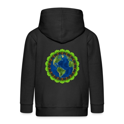 Worldtree - Kinder Premium Kapuzenjacke