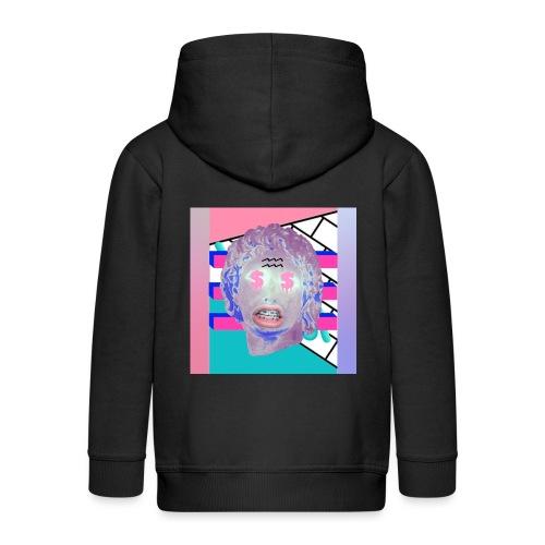 La playera del capitalismo moderno - Chaqueta con capucha premium niño