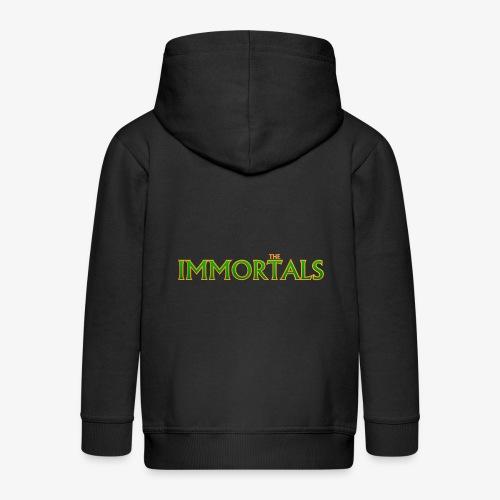 Immortals - Kids' Premium Zip Hoodie