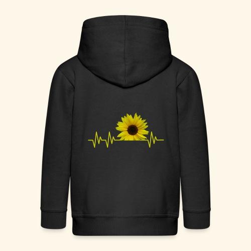 sunflowerbeat - zauberhafte Sonnenblume - Kinder Premium Kapuzenjacke