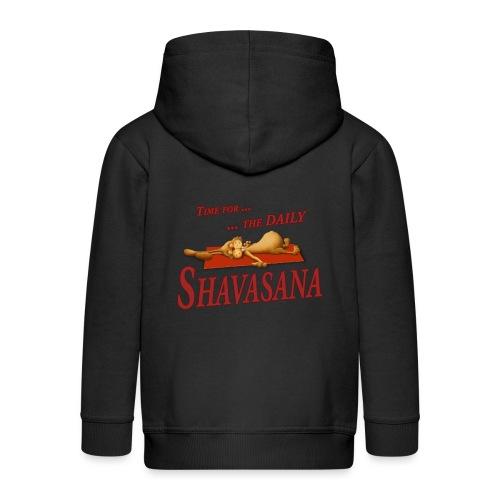 Time for Daily Shavasana - Kinder Premium Kapuzenjacke