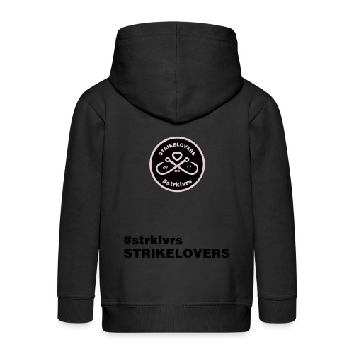StrikeLovers Circle Vector - Kinder Premium Kapuzenjacke