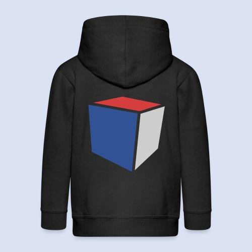 Cube Minimaliste - Veste à capuche Premium Enfant