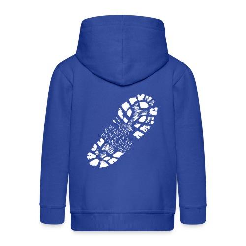 Walk With Ryanjob62 - Kids' Premium Zip Hoodie