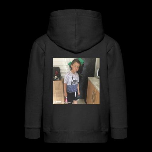 IMG 0463 - Kids' Premium Zip Hoodie
