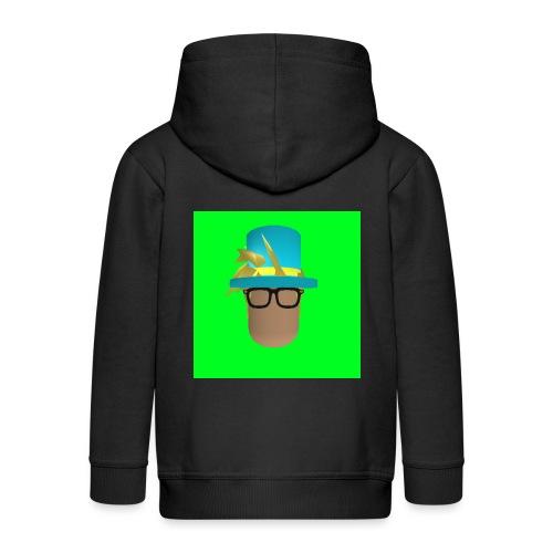 MrWhatWhat Logo Merch - Kids' Premium Zip Hoodie
