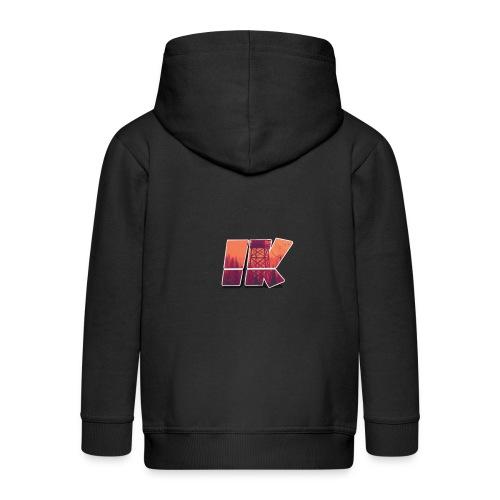 Ishaan Kulkarni Logo (1) - Kids' Premium Zip Hoodie