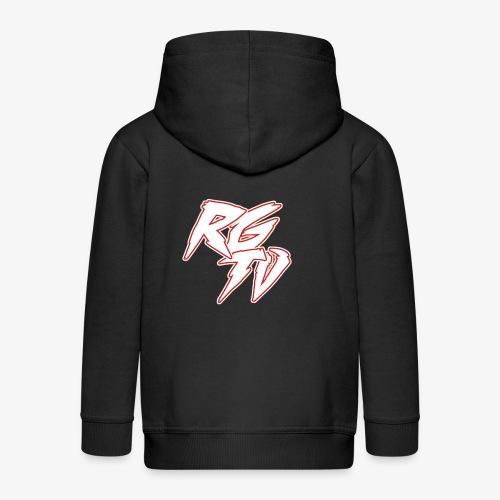 RGTV 1 - Kids' Premium Zip Hoodie