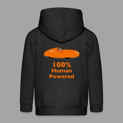 100% human powered - Lasten premium hupparitakki