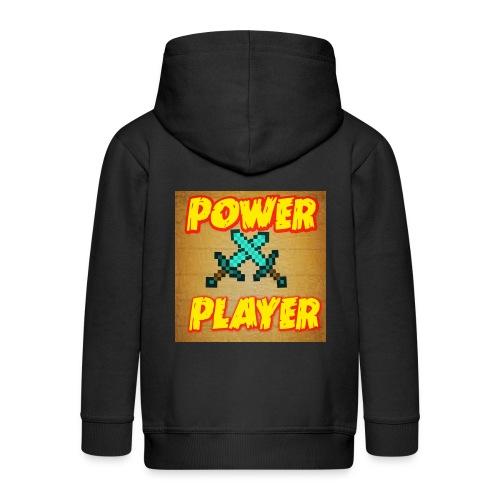 NUOVA LINEA POWER PLAYER - Felpa con zip Premium per bambini