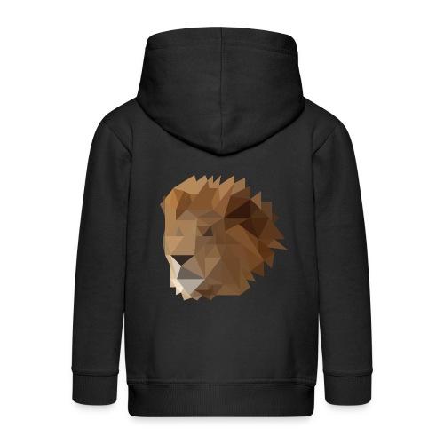 Löwe - Kinder Premium Kapuzenjacke