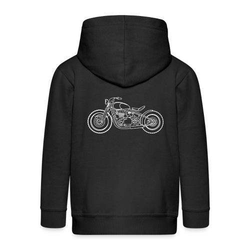 bonneville bobber Motorbike - Veste à capuche Premium Enfant