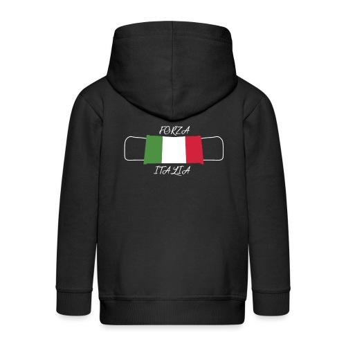 FORZA ITALIA - Chaqueta con capucha premium niño