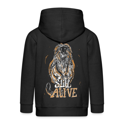 Still alive - Kids' Premium Zip Hoodie