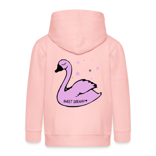 swan sweet dreams - Kinder Premium Kapuzenjacke