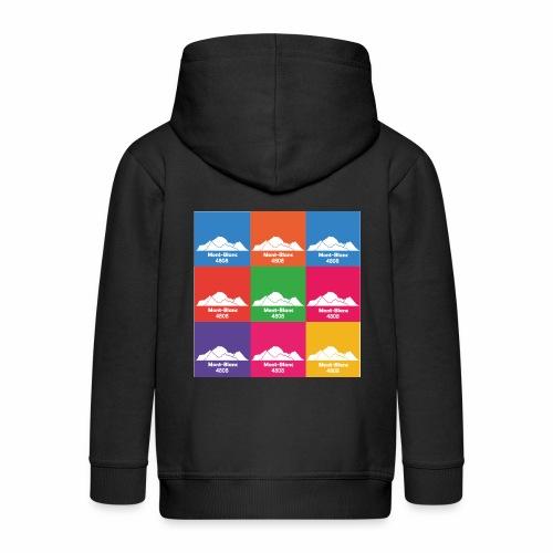 Mont-Blanc 4808 - Veste à capuche Premium Enfant