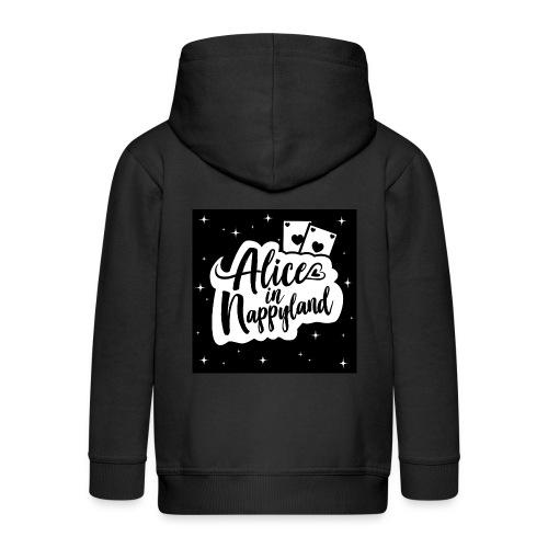 Alice in Nappyland 1 - Kids' Premium Zip Hoodie