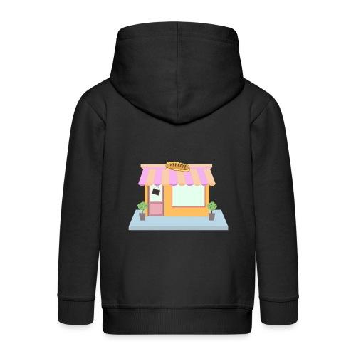Store design bread - Kids' Premium Zip Hoodie