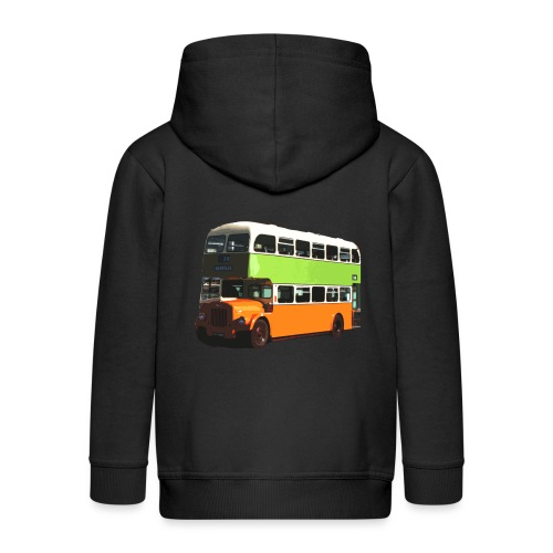 Glasgow Corporation Bus - Kids' Premium Zip Hoodie