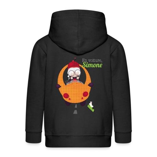 AUTOSIMONE - Veste à capuche Premium Enfant