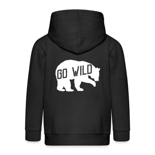 Go Wild - Kinder Premium Kapuzenjacke