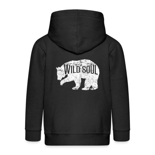 Wilde Seele - Kinder Premium Kapuzenjacke