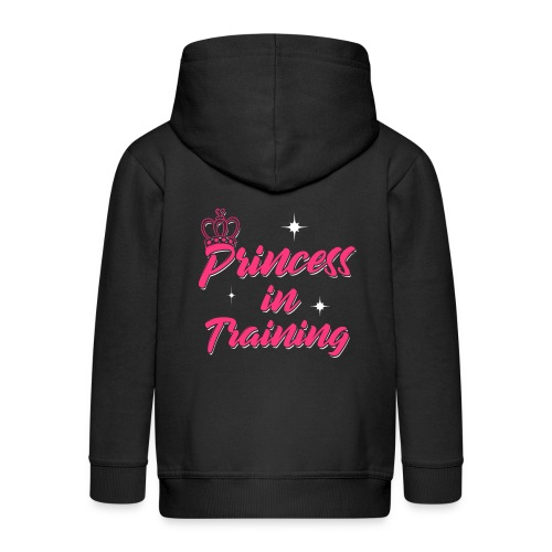 Princess In Training - Kinder Premium Kapuzenjacke