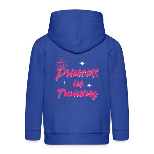 Princess In Training - Kinder Premium Kapuzenjacke