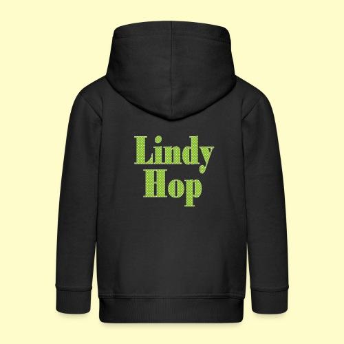 Lindy Hop und Swing Tanz Geschenk T-Shirt - Kinder Premium Kapuzenjacke