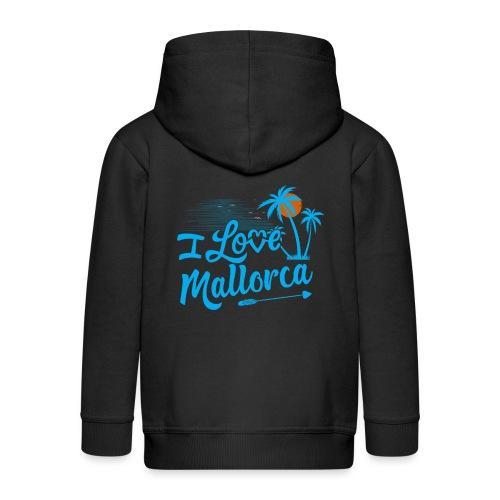 Mallorca - I love Mallorca - Aktuelles Design - Kinder Premium Kapuzenjacke
