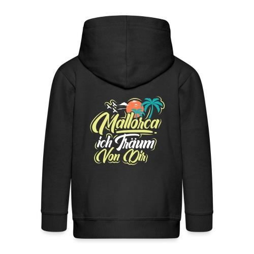 Mallorca - ich träum von dir! - Kinder Premium Kapuzenjacke