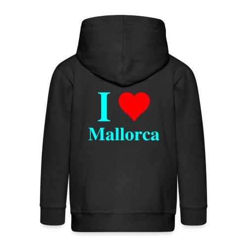 I love Mallorca - aktuelles Design von wirMallorca - Kinder Premium Kapuzenjacke