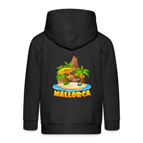 Mallorca - schau wie schön die Insel ist! - Kinder Premium Kapuzenjacke