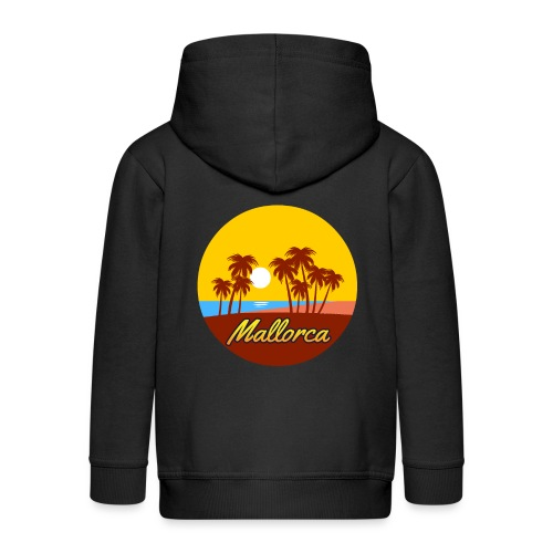 Mallorca - Als Geschenk oder Geschenkidee - Kinder Premium Kapuzenjacke