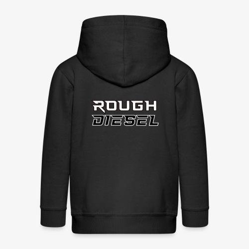 Rough Diesel Fuel I Chiptuning Diesel I Hubraum - Kinder Premium Kapuzenjacke