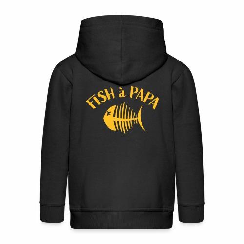 Le Fish à papa - Kinderen Premium jas met capuchon