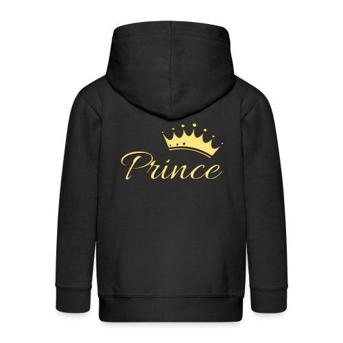 Prince Or -by- T-shirt chic et choc - Veste à capuche Premium Enfant