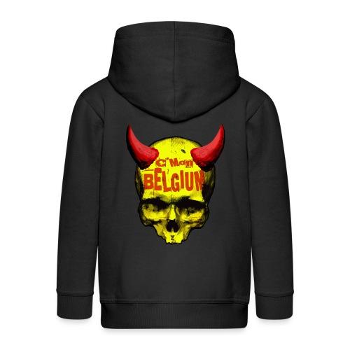 Belgium Devil 2 - Kinderen Premium jas met capuchon