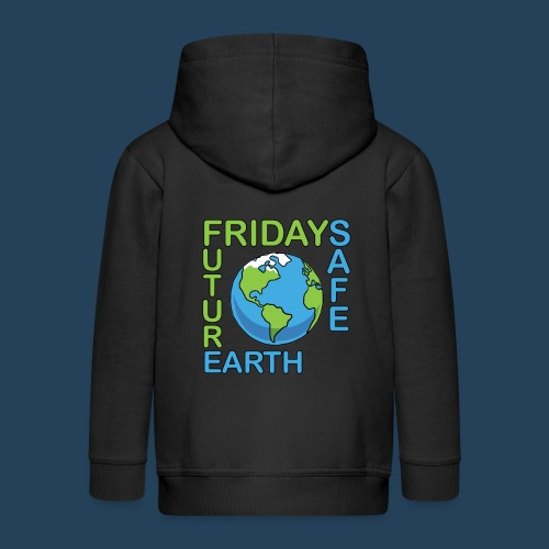 Safe Our Earth - Kinder Premium Kapuzenjacke